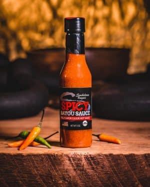 steak dust dry rub, smokehouse bayou beef jerky, hot sauce