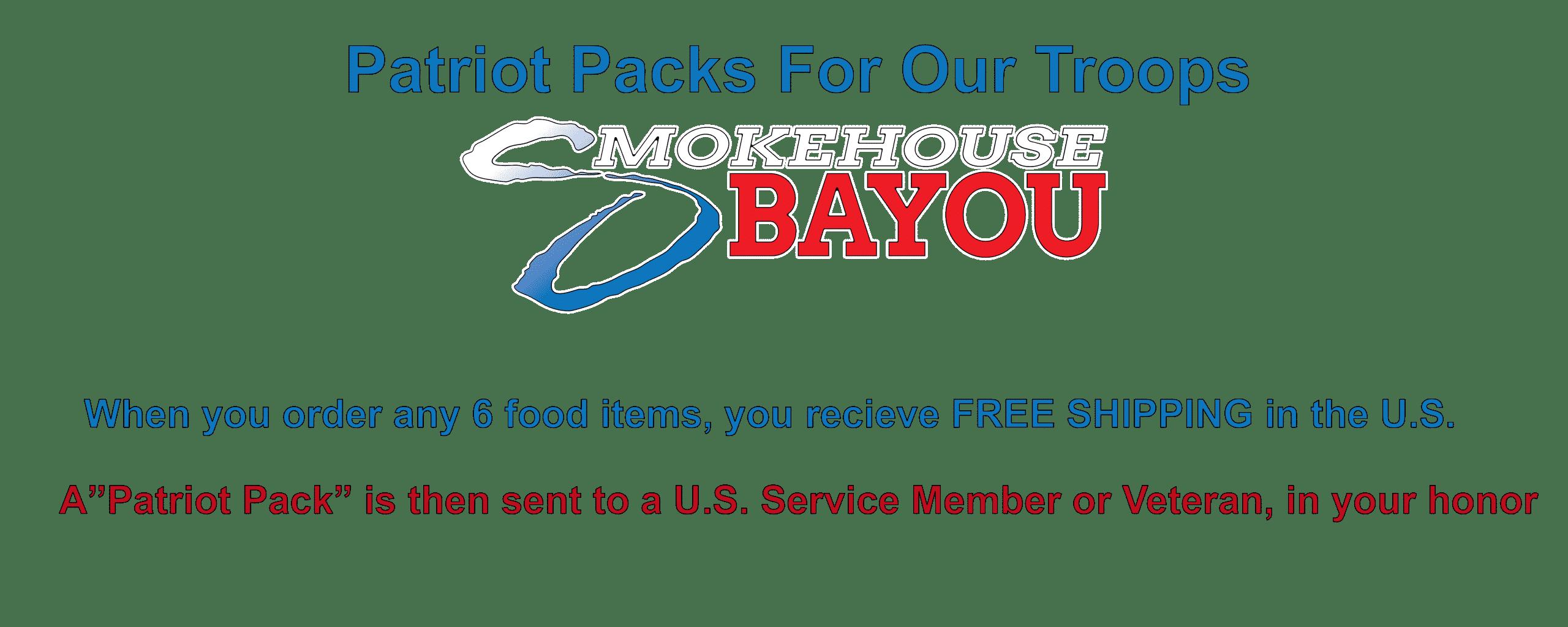 Patriot pack banner