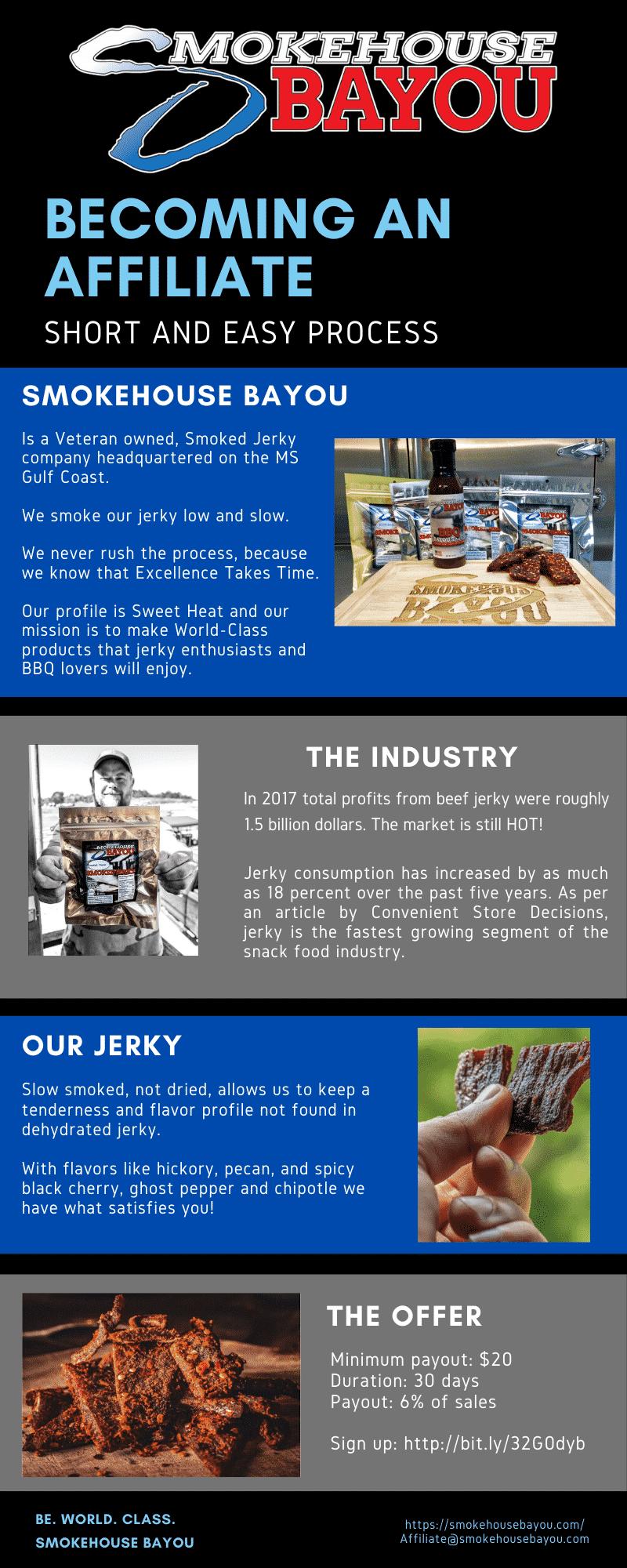 affiliate beef jerky